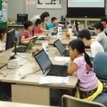 プログラミング教室の様子